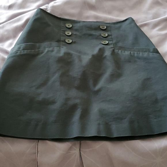 H&M Blk mini skirt